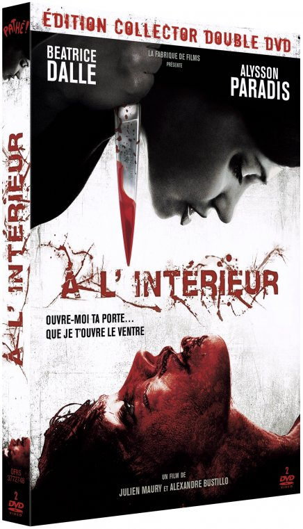 Test dvd a l 39 int rieur edition collector for A l interieur film
