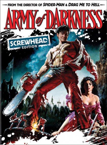 Tout sur Evil Dead 3 : L'Armée des ténèbres (Screwhead Edition) en DVD & Blu Ray