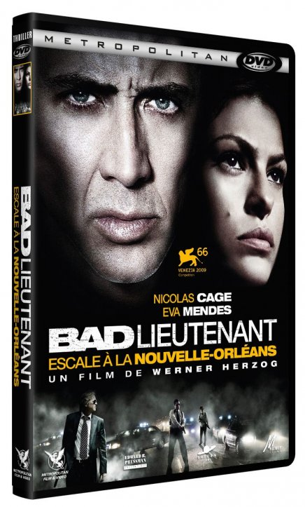 Test DVD Bad Lieutenant: Escale à la Nouvelle-Orléans