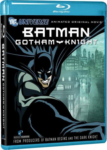Tout sur Batman - Gotham Knight en DVD et Blu-ray