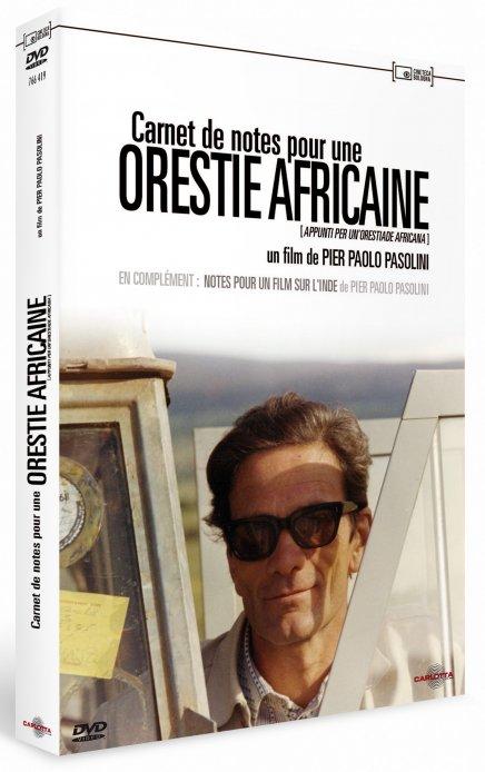 Test DVD Carnet de notes pour une Orestie africaine