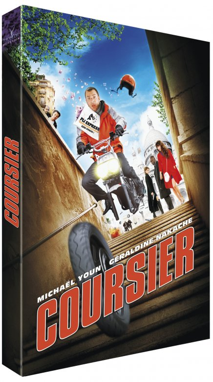 Annonce de la sortie en DVD de Coursier avec Michael Youn