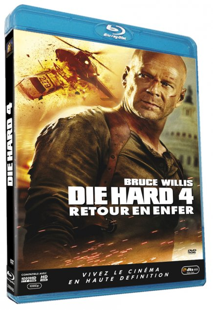 Die Hard 4 : Retour en enfer – Blu-Ray