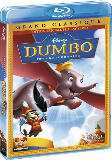 Test du Blu-Ray Dumbo