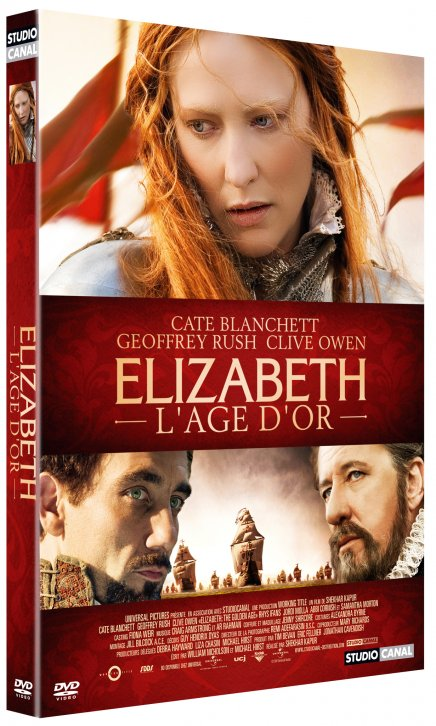 Test DVD Elizabeth : l'âge d'or