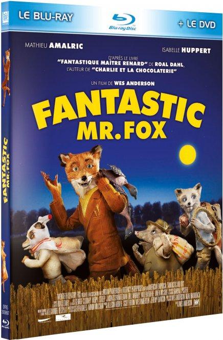 Tout sur les DVD et Blu-ray de Fantastic Mr. Fox, un film de Wes Anderson