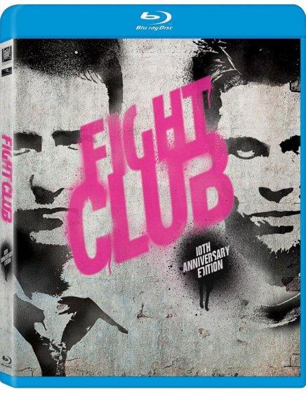 Visuel du Blu-Ray import de Fight Club