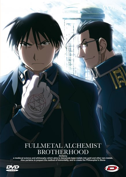 Tout sur Fullmetal Alchemist Brotherhood en DVD