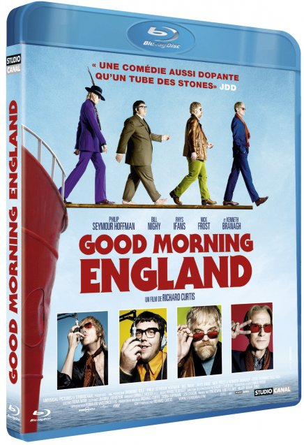 Test Blu-Ray de Good Morning England