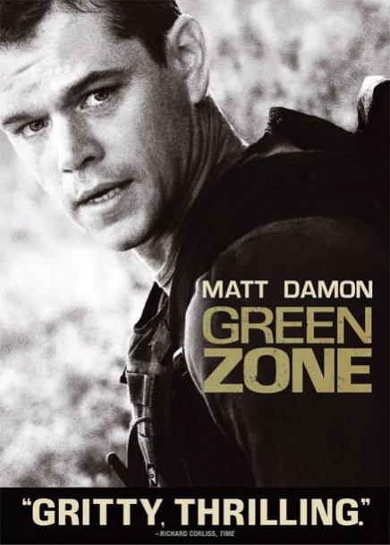 Tout sur les DVD et Blu-ray américains de Green Zone avec Matt Damon