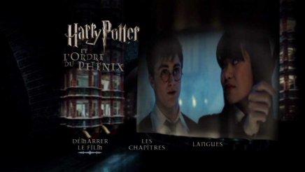 Test dvd harry potter et l 39 ordre du ph nix edition simple - Harry potter 8 et les portes du temps bande annonce ...