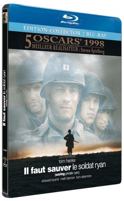 Test du Blu-Ray Test du Blu-Ray Il Faut Sauver le soldat Ryan