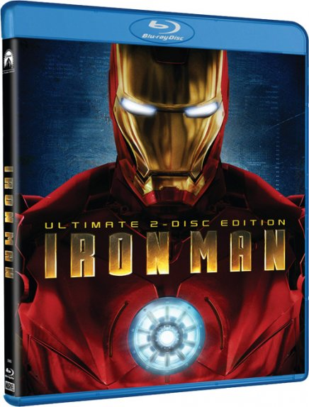 Iron Man – Blu-Ray import import