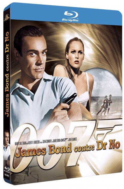 Tout sur les James Bond en Blu-Ray !