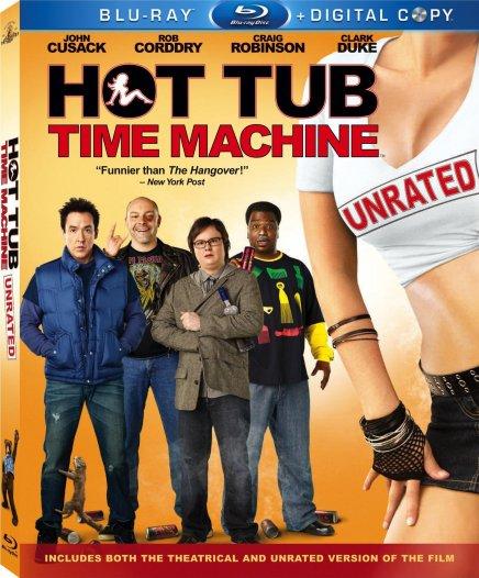 Hot Tub Time Mahcine pas encore sorti en France mais déjà disponible en Blu-ray