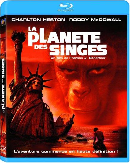 La Planète des singes – Blu-Ray