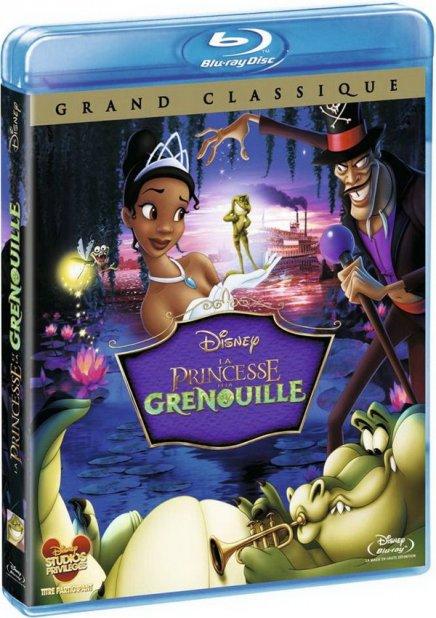 Test du Blu-Ray Test du Blu-Ray La Princesse et la grenouille