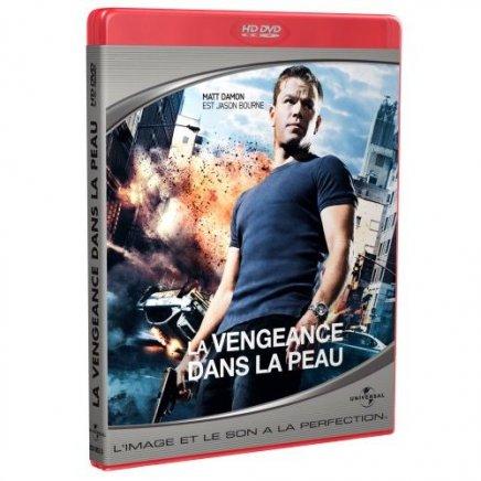 La vengeance dans la peau - HD-DVD