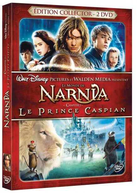 Narnia 2 en DVD, DVD Collector et Blu-Ray