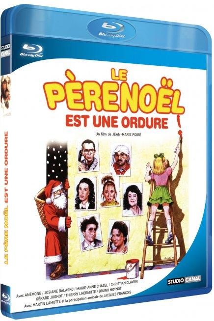 Test du Blu Ray Le Père Noel est une ordure