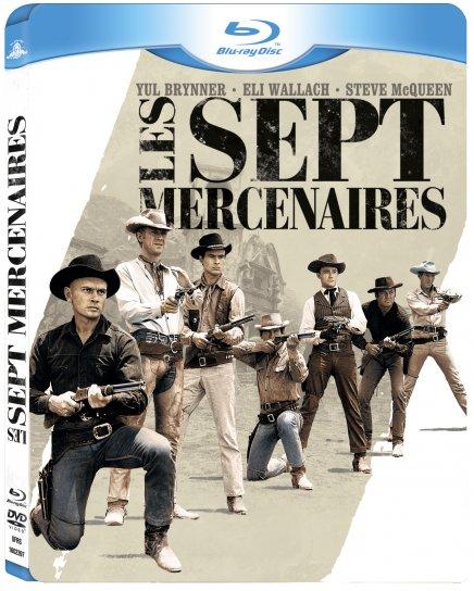 Test Blu-ray de Test Blu-ray de Les Sept Mercenaires avec Steve McQueen avec Steve McQueen