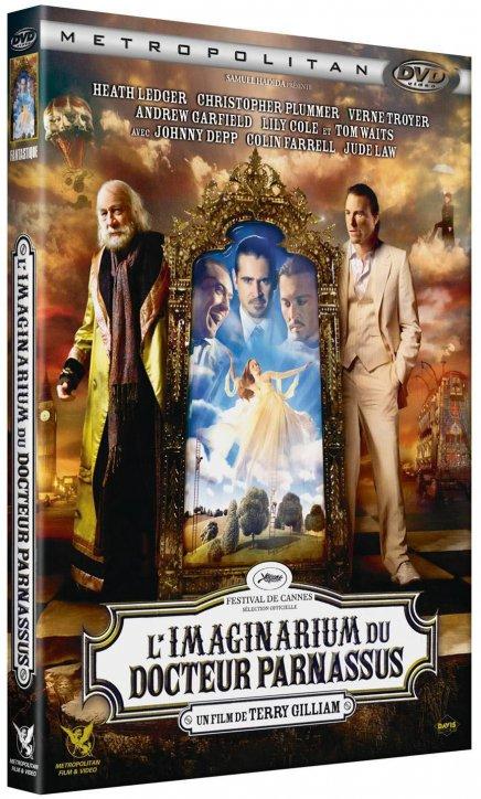 Tout sur les DVD & Blu-ray de L'Imaginarium du Docteur Parnassus
