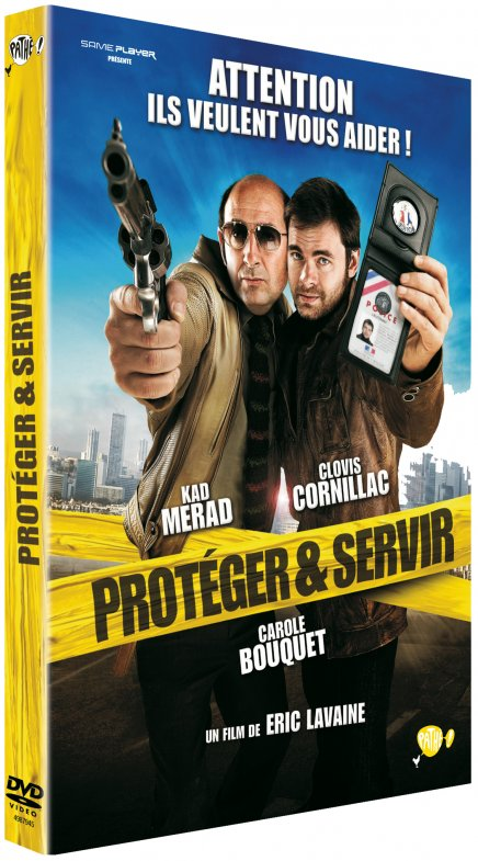 Annonce de la sortie de Protéger et servir en DVD