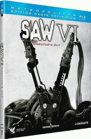 Test du Blu-Ray Test du Blu-Ray Saw 6 – Director's Cut