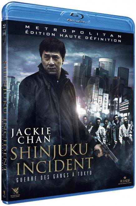 Tout sur les DVD et Blu-ray du Shinjuku Incident de Derek Yee avec Jackie Chan