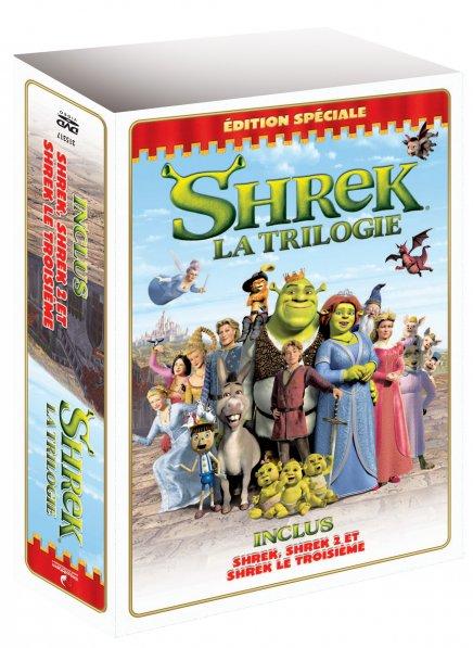 Shrek 3 en DVD : plus d'info en DVD : plus d'info