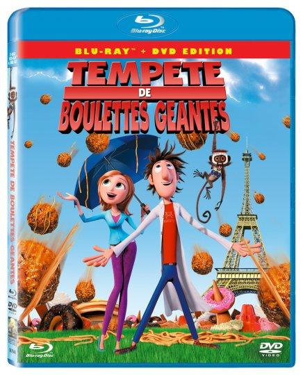 Test du Blu-Ray Test du Blu-Ray Tempête de boulettes géantes