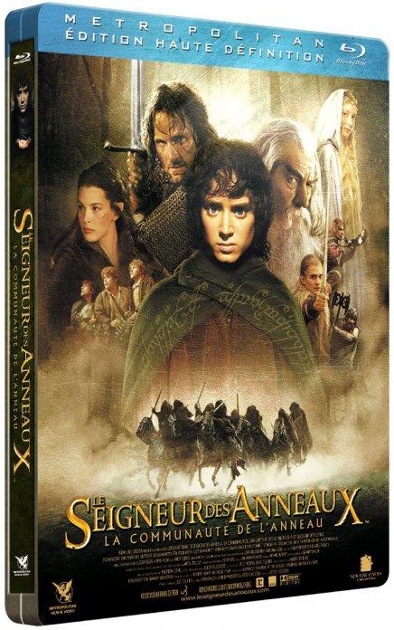 Test du Blu-Ray Test du Blu-Ray Le Seigneur des anneaux - La communauté de l'anneau