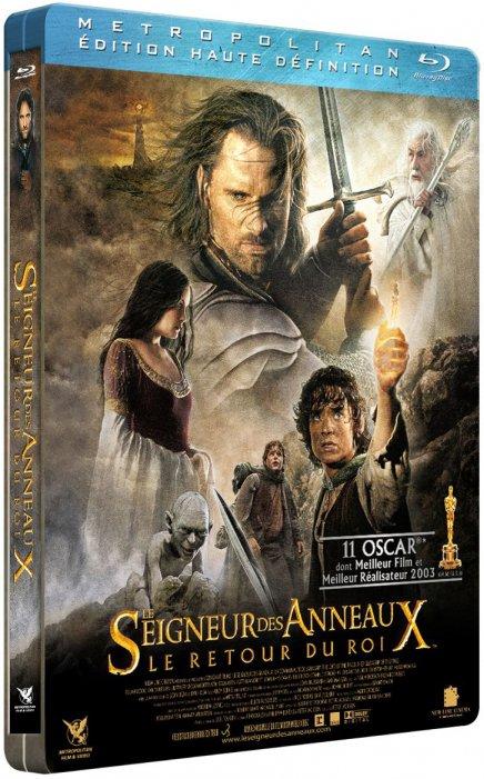 Test du Blu-Ray Le Seigneur des anneaux - Le Retour du Roi