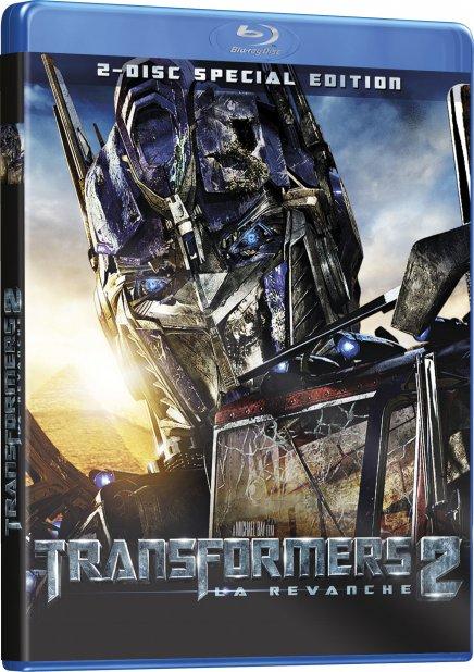Test du Blu-Ray Transformers 2 La Revanche