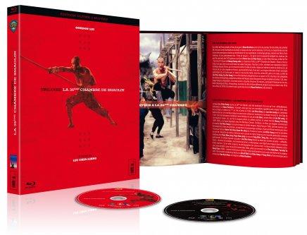Test du Blu-Ray de la Test du Blu-Ray de la Trilogie La 36ème Chambre de Shaolin