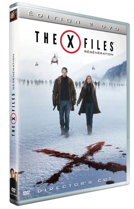 Test DVD X-Files Régénération - Edition 2 DVD