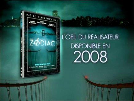 Zodiac : le DVD Zone 2