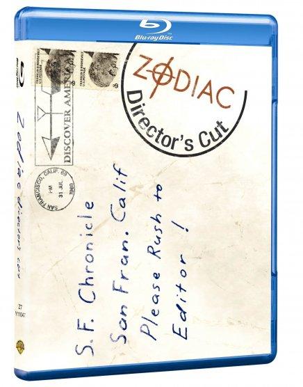Zodiac en Blu-Ray : C'est finalement le Director's cut qui sortira en France