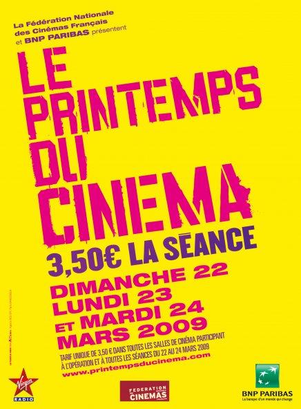 Le Printemps du Cinéma : c'est parti !