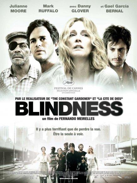 Blindness en import : pas de bonus et une jaquette ignoble