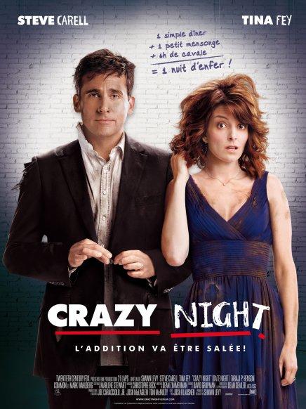 Tout sur les DVD et Blu-ray de Crazy Night avec Steve Carell et Tina Fey