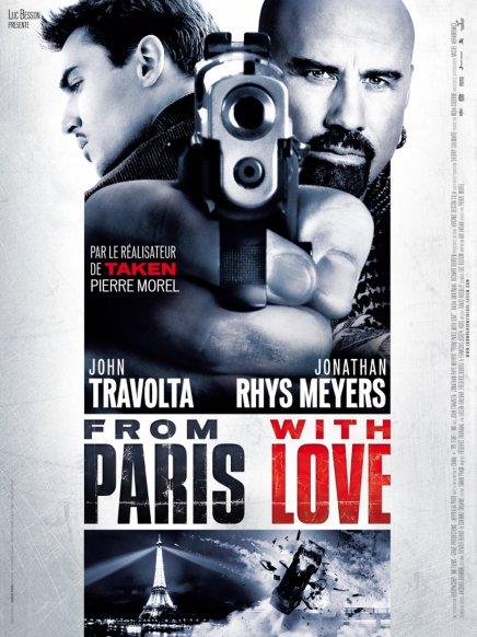 Tout sur les DVD et Blu-ray américains du From Paris with Love de Pierre Morel