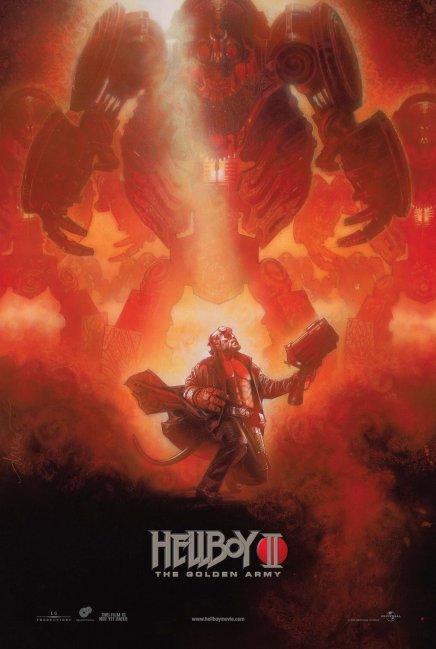 Hellboy 2 affiché par le grand Drew Struzan