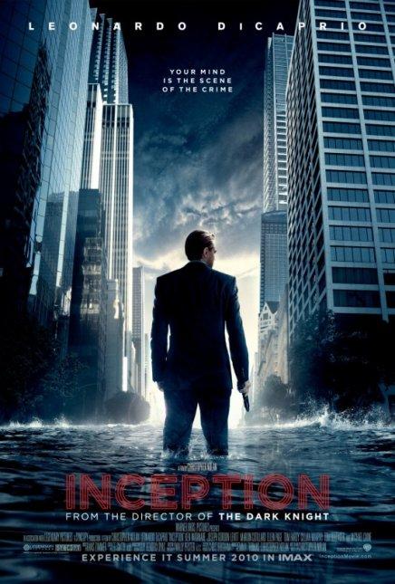Une première affiche pour Inception de Christopher Nolan