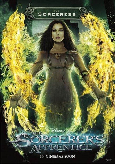 Deux nouvelles affiches de L'apprenti sorcier avec Monica Bellucci