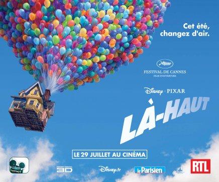 Disney propose de télécharger gratuitement la bande originale de Là-haut