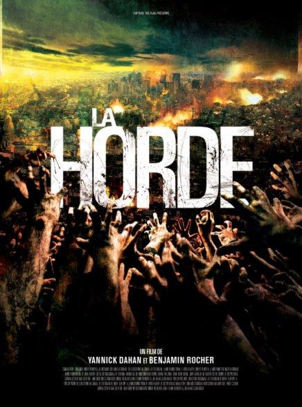 Une série d'affiches rejetée de La Horde de Yannick Dahan et Benjamin Rocher