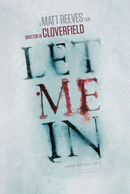 Let Me In : un nouveau poster pour le remake de Morse