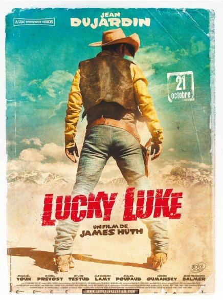Lucky Luke avec Jean Dujardin : l'affiche en Haute Résolution en Haute Résolution