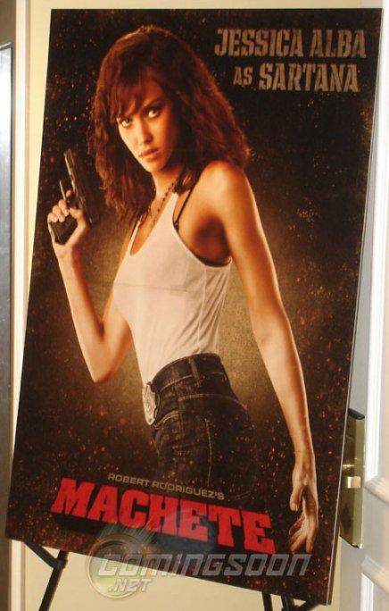 Jessica Alba s'affiche pour Machete
